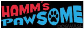 Hamm's Pawsome Dogwash Logo